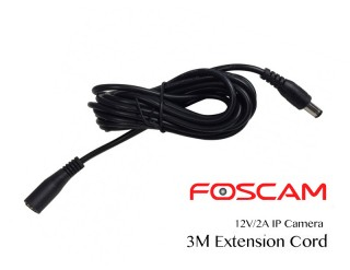 Power Extension Cord for 12V IP Cameras