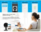 IP CAMERA FOSCAM C1 HD 720P WiFi Plug n Play Black