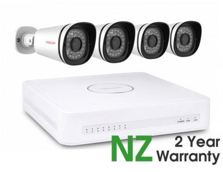 Foscam Security Camera Package 8CH NVR + 4 Cameras 1080P FN7108E