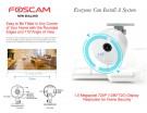 IP CAMERA FOSCAM C1 Lite 720P WiFi Plug n Play WH
