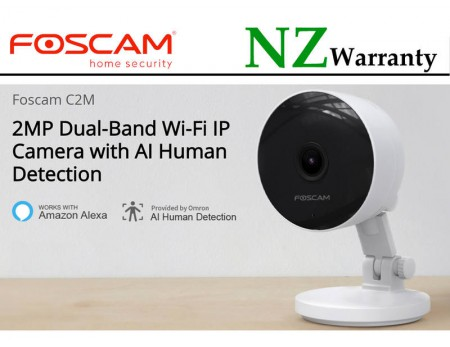 IP CAMERA FOSCAM C2M FHD 1080P Dual-Band Wifi Human Detection