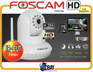 FI9831W HD 1.3MP WiFi P/T  White