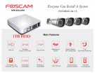 Foscam Security Camera Package 8CH NVR + 4 Cameras 720P FN3108XE