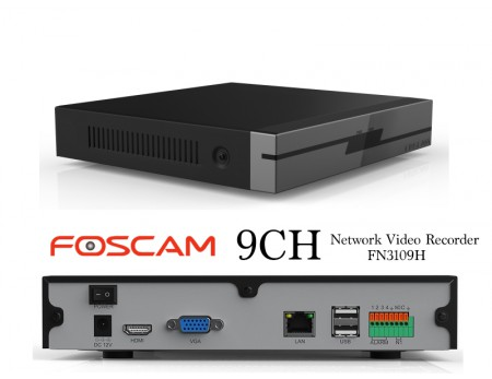 FOSCAM NETWORK VIDEO RECORDER NVR 9CH FN3109H