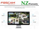 Foscam Security IP Cameras Mesh WiF 2MP 1080P + NVR  1TB HDD FN7104W