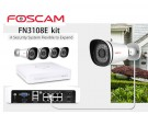 Foscam Security Camera Package FN3108E 8CH NVR + 4 Cameras 720P FN3108E