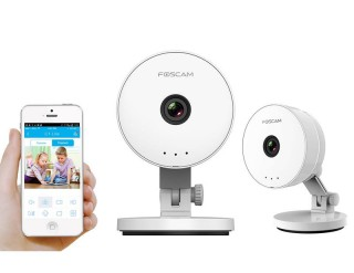 IP CAMERA FOSCAM C1 Lite 720P WiFi Plug n Play WH