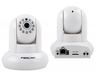 FOSCAM IP CAMERA HD 720P FI9821EP POE PNP White