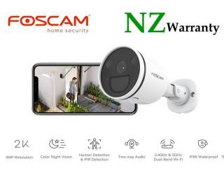 FOSCAM IP CAMERA S41 2.4G/5G WiFi SPOTLIGHT SECURITY CAMERA 4MP