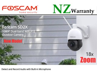FOSCAM IP CAMERA SD2X Outdoor PTZ 18x Zoom 2.0MP