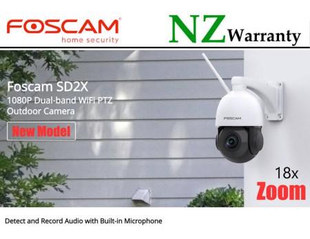 FOSCAM IP CAMERA SD2X Outdoor PTZ 18x Zoom 2.0MP