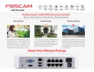 Foscam Security Camera Package 8CH NVR + 8 Cameras 720P FN3108XE