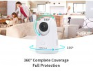 IP CAMERA FOSCAM X2 Wifi FHD 2MP P/T Human Detection 1-button call