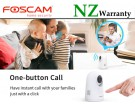 IP CAMERA FOSCAM X2 Wifi FHD 2MP 1080P P/T Human Detection